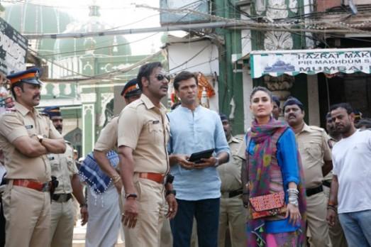 Ajay Devgan in Gujarat at Daman for Shooting of SINGHAM 2 Hindi Movie Releasing in 2014