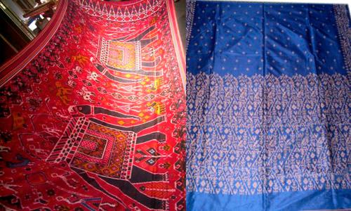 Famous Real Silk Patola of RAJKOT available at V.J. SONS PATOLA