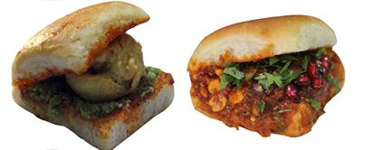 Famous Spicy Food Dabeli in Ahmedabad