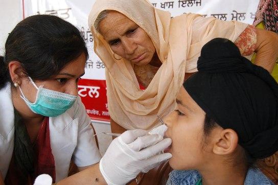 Free Dental Check – Up Camp at Satellite Road Ahmedabad