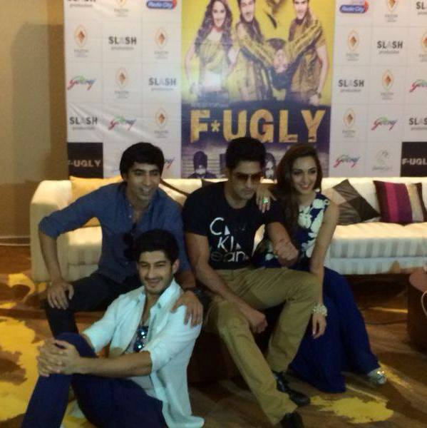 Fugly Movie Promotion in Ahmedabad - Fugly Hindi Film Star Cast in Ahmedabad