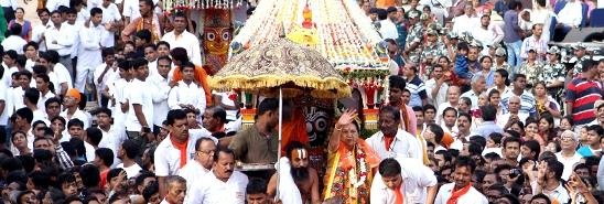 Gujarat CM Anandiben Patel will Attend Ahmedabad Jagannath Rath Yatra 2014