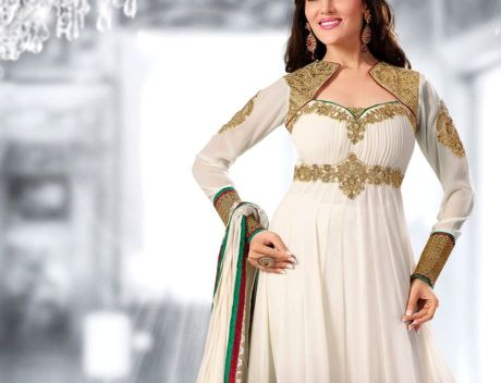 Leading Online Shopping Website CILORY offers Designer Anarkali Suits from Rs.2499