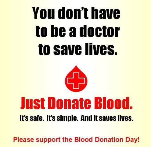 Mega Blood Donation Camp at S.G. Road Ahmedabad