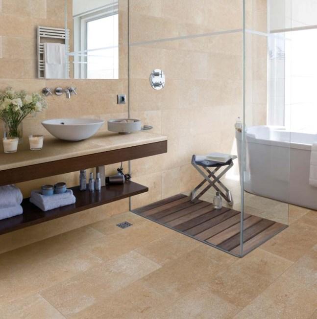 Non Anti Slip Tiles for Bathroom Floor