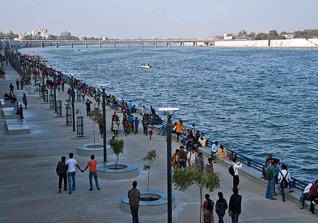 Sabarmati Riverfront at Ahmedabad