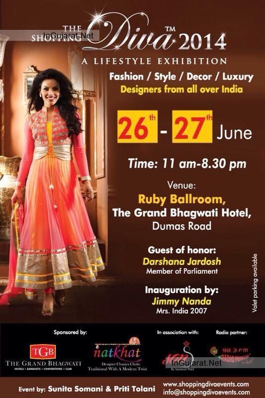 The Shopping Diva 2014 LifeStyle Exhibition in Surat Gujarat