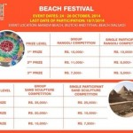 Tithal Beach Festival 2014 from 24th to 26th October
