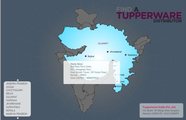Tupperware in Baroda  Tupperware Distributer Office in Vadodara Gujarat