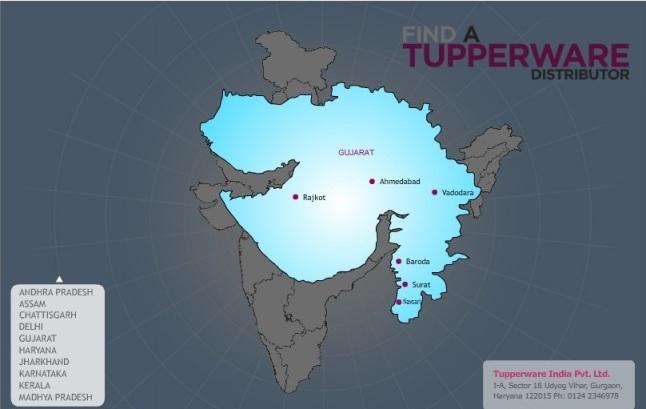 Tupperware in Surat Tupperware Distributer Office in Surat Gujarat