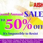 AISHWARYA Design Studio Ahmedabad – Grand Annual Sale Upto 50% off in Ahmedabad