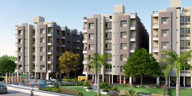 Akshar Residency Ahmedabad - 1 BHK  2 BHK Flats at Vasana Paldi Ahmedabad