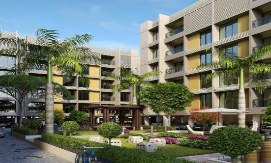 Anand Crystal Ahmedabad - 2 BHK  3 BHK Premium Apartments at Tragad Ahmedabad by B Desai Group