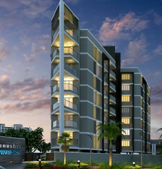 Anushri Pratishtha Ahmedabad - 3 BHK  4 BHK Premium Flats at Gulbi Tekra Ahmedabad by Siddhi Developers
