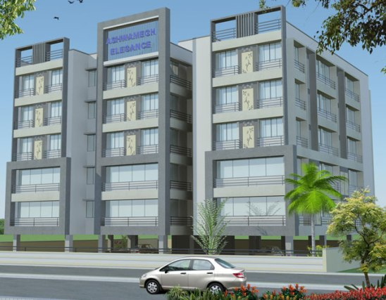 Ashwamegh Elegance Ahmedabad - Office Complex at Ambawadi Ahmedabad Lalan Developers Pvt Ltd