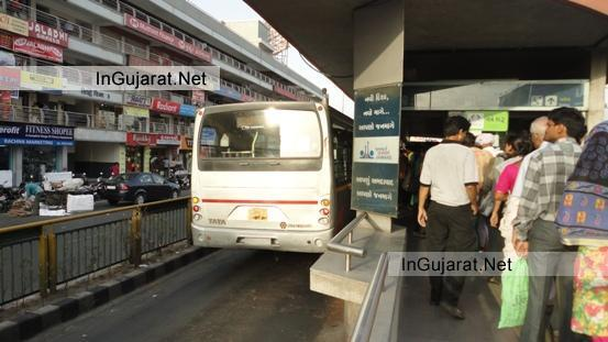 BRTS Bus Ahmedabad Photos Pics - BRTS Station Ahmedabad Images Latest Pictures 2014