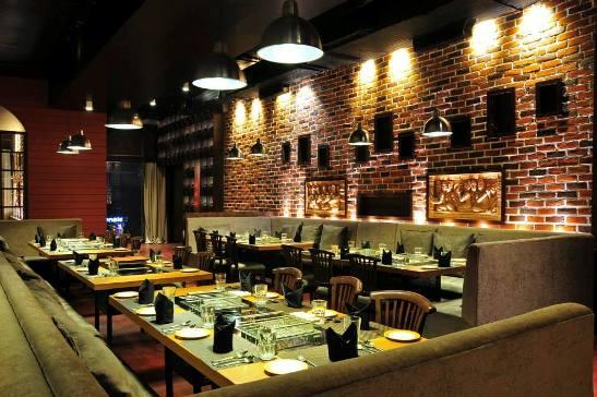 Charcoaled Barbeque Restaurant at Prahlad Nagar Road Ahmedabad