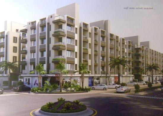 Divya Sanskar City Gandhinagar  2 BHK & 3 BHK Apartments  Shops in Gandhinagar