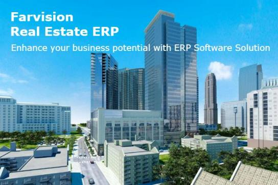 Farvision ERP for Construction Software Clients by Gamut Infosystems Ltd