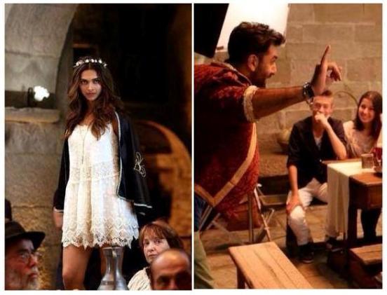First Look of Ranbir Kapoor Deepika Padukone in TAMASHA Hindi Movie 2015 Directed by Imtiaz Ali