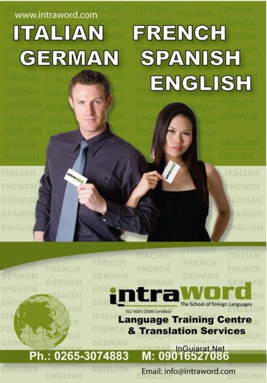Foreign Language Translation Services in Vadodara Gujarat by INTRAWORD