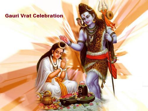 Gauri Vrat Celebration in Gujarat India