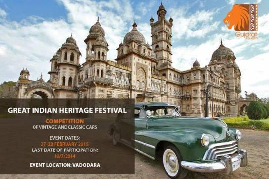 Great Indian Heritage Festival 2015 in Vadodara Gujarat