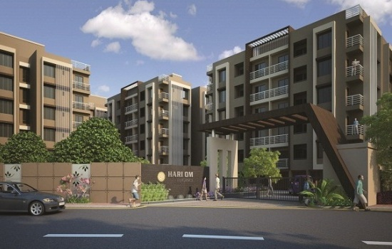 Hari Om Elegance Godhavi Ahmedabad - 2 BHK Luxurious Apartments by Hari Om Infrastructure