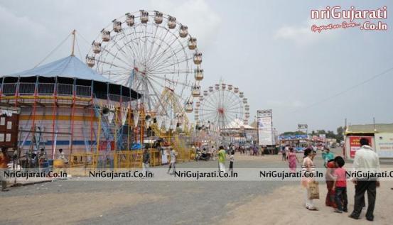 Janmashtami Mela in Rajkot 2014 - Preparation Started by Toy Sellers & Lok Mela Samiti