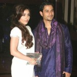 Kunal Khemu and Soha Ali Khan Engagement at Eiffel Tower Paris