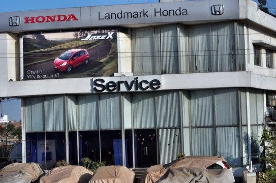 Landmark Honda Showroom in Rajkot Ahmedabad Surat - Contact Number