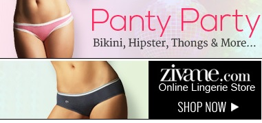 Panty Party - Lingerie Bikini Hipster Thongs Bra Panty by ZIVAME.com Online Shopping Store