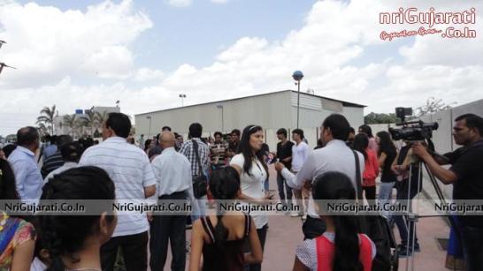 Press and Media at Cosmoplex Cinema Rajkot for  Coverage of Gujarati Film 2014