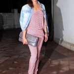 Priyanka Chopra in Gold Jumpsuit on Her Birthday at Turquoise – Priyanka Chopra Birthday Pics 2014