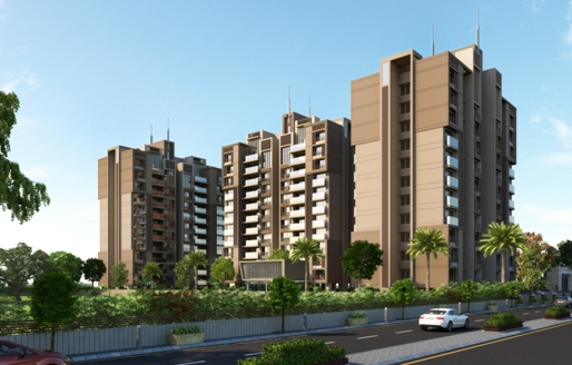 Ratna Paradise 4BHK Luxurious Apartments at Vaishnodevi Circle Ahmedabad by Ratna Infracon Pvt Ltd