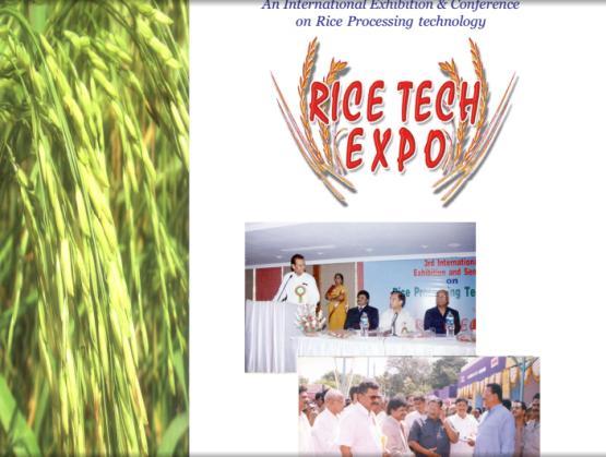 Rice Pro Tech Expo 2014 in Ahmedabad Gujarat India Upcoming Food Expo in Gujarat