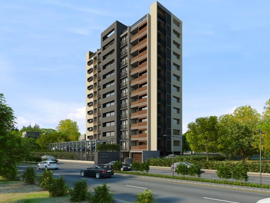 STRAFT Luxuria Ahmedabad - 4 BHK Luxurious Apartment & Penthouses at Naranpura by STRAFT AKG
