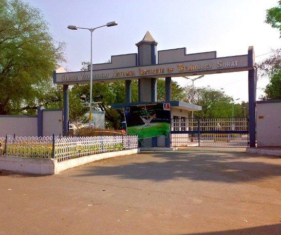 SVNIT Sardar Vallabhbhai National Institute of Technology in Surat Gujarat