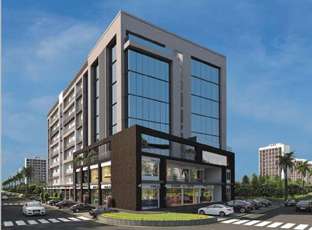 SYMMERS Business Park in Ahmedabad - Showrooms & Offices at Sarkhej Ahmedabad by Sim Developer