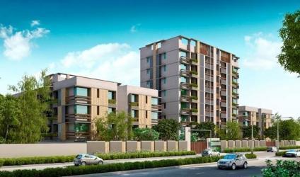 Sangath Posh 3 BHK4 BHK Fully Air Conditioned Apartments at Chandkheda Ahmedabad by Sangath IPL
