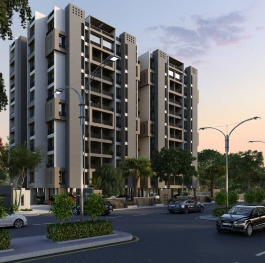 Sharan Sapphire Ahmedabad By Rushabhdev Infrastructure Pvt Ltd 3 Bhk Apartments