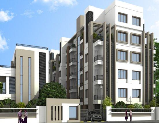 Shree Kunj Apartment Ahmedabad - 3 BHK luxurious Flat at Prahlad Nagar Ahmedabad by Nidhi Group