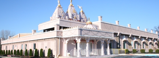 Shri BAPS Swaminarayan Temple New Jersey City Inauguration of Shree Akshardham Mandir in Robbinsville at NJ USA
