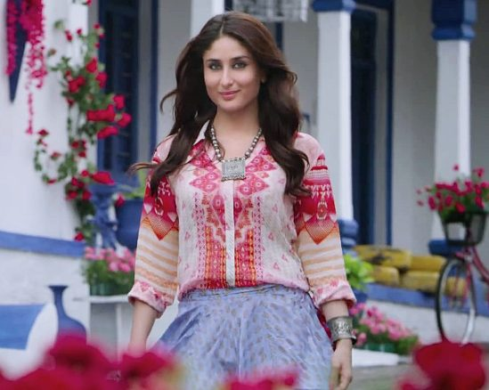 Singham Returns Costume Designer is MANISH MALHOTRA - Kareena Kapoor Dress Designs 2014