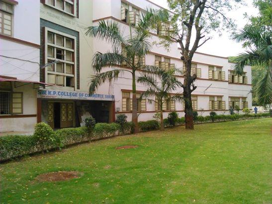 Sir KP College Commerce in Surat Gujarat