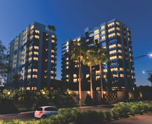 Sundarvan Epitome 4 BHK High End Premium Apartments at Satellite Ahmedabad by Ganesh Housing Corporation Limited