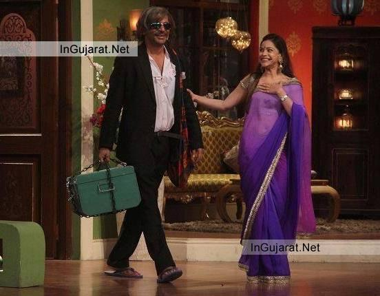 Sunil Grover Playing Gutthi Role Earlier in Comedy Nights With Kapil is back as Father In Law of Kapil Sharma