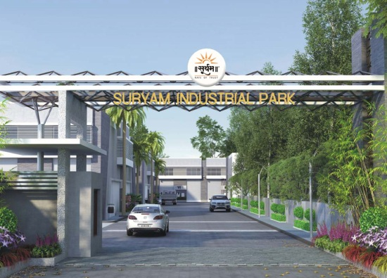Suryam Industrial Park at Nikol Ahmedabad by Suryam Group