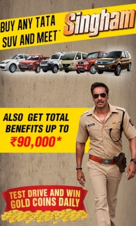 TATA Motors Monsoon Offer - Latest Discount Scheme for July August 2014 to Meet SINGHAM
