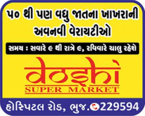 Tasty aGujarati Khakhra in Bhuj  Buy From 50 Varieties of Khakhra at Doshi Super Market Bhuj Gujarat